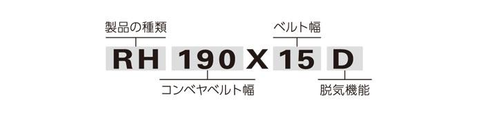 RH190品番について